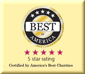best charity in US, 5 star